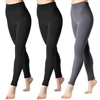 Angelina Plush-Lined Leggings, #1506_3 Basic