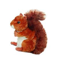 "Nutsie Brown Squirrel 6.5"" by Aurora"