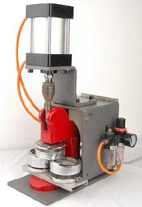 Pneumatic Badge Machine, Automatic Badge Maker with All Set