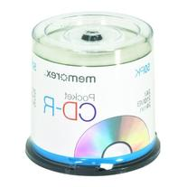 Memorex 210 MB 24x 24 Minute Pocket CD-R Mini-Discs 50-Pack