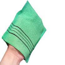 Pocket Style Exfoliating Scrub Bath Mitt Washclothe, 3