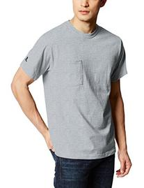 Russell Athletic Men's Pocket Tee, Black, XXX-Large