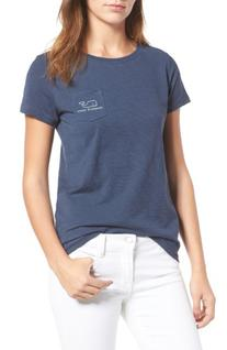Women's Vineyard Vines Pocket Tee, Size X-Large - Blue