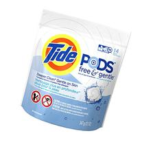 Tide PODS Laundry Detergent Pacs Free & Gentle, Unscented,