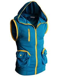 H2H Mens Pokemon Custume Hoodie Zip-up BLUE US L/Asia XL