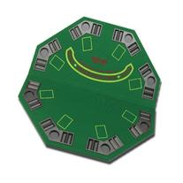 Fat Cat Poker/Blackjack Table Top Table