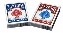 Bicycle Poker Size Standard Index Playing Cards, 4 Deck