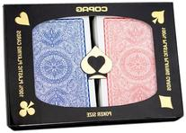 Copag 4-Color Poker Size Jumbo Index Playing Cards - 4 Free