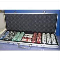 Poker Set with Aluminum Case , 11.5g