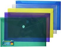 Premium Poly Envelope with Velcro Closure-5pc Mix Colors Set