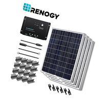 Renogy 400 Watts 12 Volts Polycrystalline Solar Starter Kit