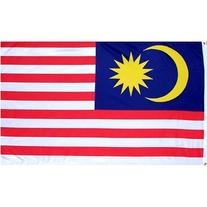 3x5 Foot Polyester Malaysia Flag