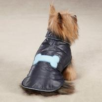 Casual Canine Polyester Snow Puff Dog Vest, X-Large, 24-Inch