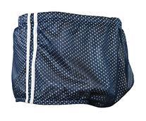 Adoretex Men's Polymesh Training Drag Suit, Navy/White, 30