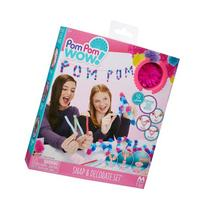 Pom Pom Wow Snap and Decorate Set