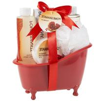Treat yourself to Pomegranate Body And Body Spa Gift Set the