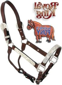 Royal King Pony Silver Bar Show Halter