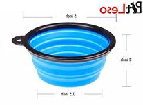 Pet Leso® Pop-up Collapsible Pet Bowl Travel Bowl Water