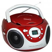 Supersonic Portable Audio System CD Player with AUX Input