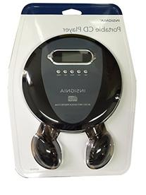 Insignia Portable CD Player with Skip Protection, CD-R, CD-