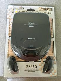 GPX Portable Compact Disc Player