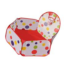 EachWell Portable Cute Hexagon Polka Dot Kids Playpen Ball
