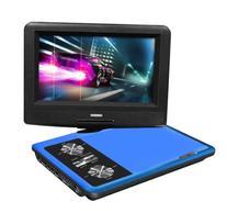 Impecca DVP775B 7 Inch Swivel Screen, Portable DVD Player,