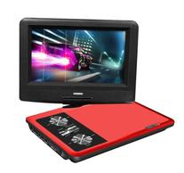 Impecca DVP775R 7 Inch Swivel Screen, Portable DVD Player,