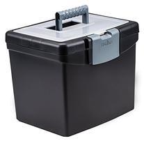 Storex Portable File Box