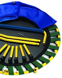 Portable & Foldable Trampoline - 36 Dia. Durable