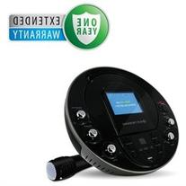 Electrohome Portable Karaoke System with USB and MP3 Input W