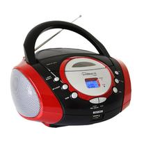 Supersonic Portable Mp3/Cd Player With Usb/Aux Input & Am/Fm