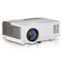 Portable Pico Projector 1080p, 1500 Lumens LED Smart Mini