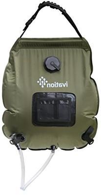 Ivation 5-Gallon Portable Outdoor Shower - Lightweight &