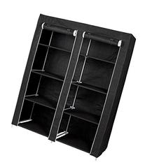 FloridaBrands Large Portable Wardrobe Closet Organizer with