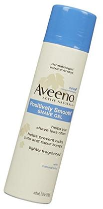 Aveeno Positively Smooth Shave Gel - 7 oz