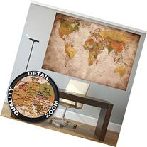 Poster used look - wall picture decoration Globe Continents