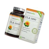 NatureWise High Potency CLA 1250 Supplement, 1000 mg, 180