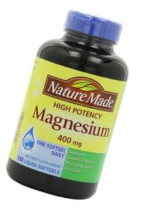 High Potency Magnesium 400 mg, Pack of 3
