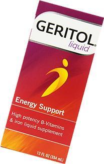 Geritol High Potency Vitamin & Iron Supplement, with Ferrex