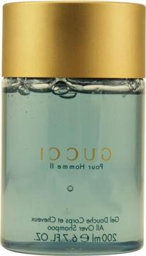 Gucci Pour Homme Ii by Gucci for Men. All Over Shampoo 6.8-