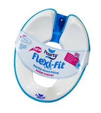Pourty Flexi-Fit Toilet Trainer, White/Blue NewBorn, Kid,