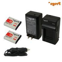 Progo Power Pack:  for Sony NP-BG1, NP-FG1. Fits Sony Cyber-