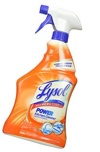 Lysol Power Kitchen Cleaner Spray, 28 Fluid Ounce