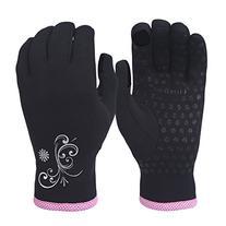 TrailHeads Women's Power Stretch Running Gloves - black/fast