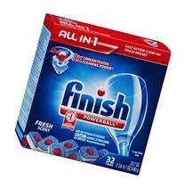 Finish Powerball All in 1 Deep Clean Fresh Scent Dishwasher