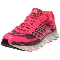 New Adidas Girls' Powerblaze Sneakers Solar Pink/Black/Core