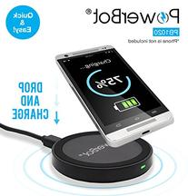 PowerBot PB1020 Qi Compliant Wireless Charger Charging Pad