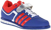 ADIDAS Powerlift 2 Adult Weightlifting Shoe, Black/White/Red
