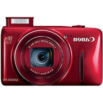 PowerShot SX600 HS 16MP Red